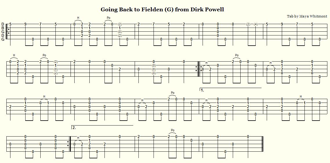 6 string guitar chords