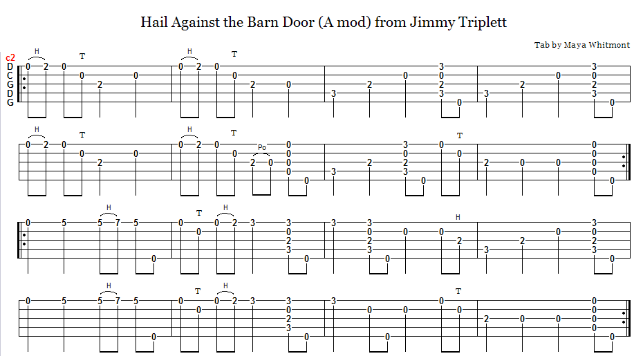 Totw 61110 Hail Against The Barn Door Discussion Forums Banjo